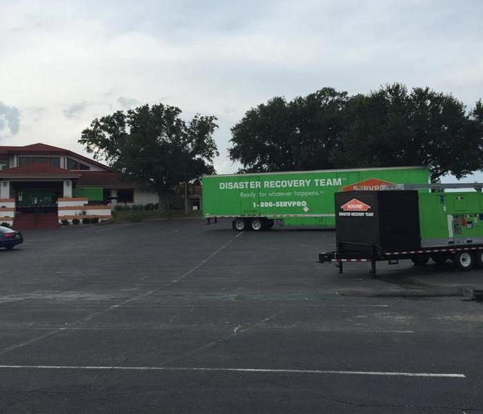SERVPRO trailer commercial fire in Plant City, FL