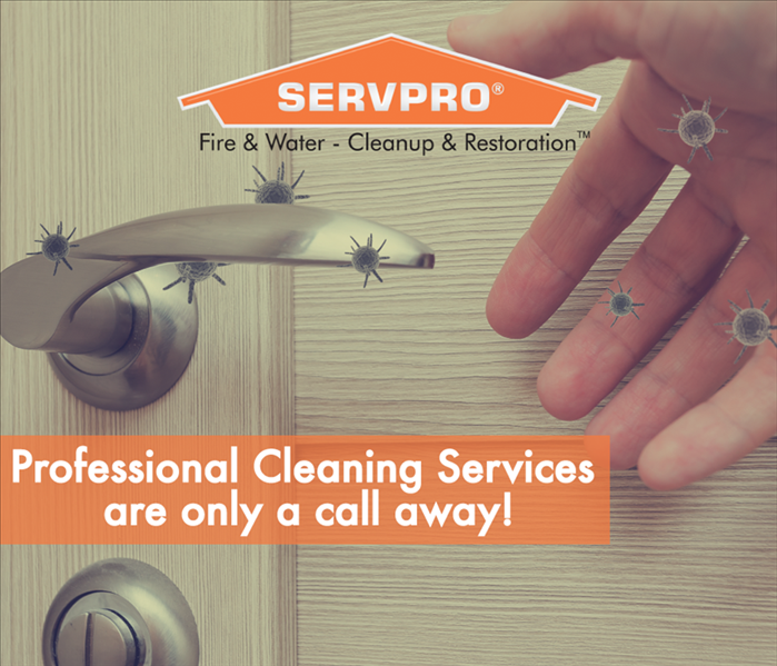 a graphic that says proactive cleaning services are only a call away